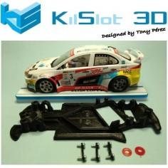 KISLOT KS-AX3S CHASIS 3D ANGULAR RACE SOFT 2017 MITSUBISHI AVANT