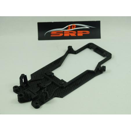 3D SRP 001019 CHASIS 3D ASTOM MARTIN DBR9 BLACK ARROW
