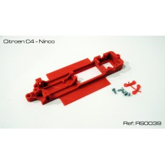 RED SLOT RS-0039 CHASIS 3D CITROEN C4 NINCO