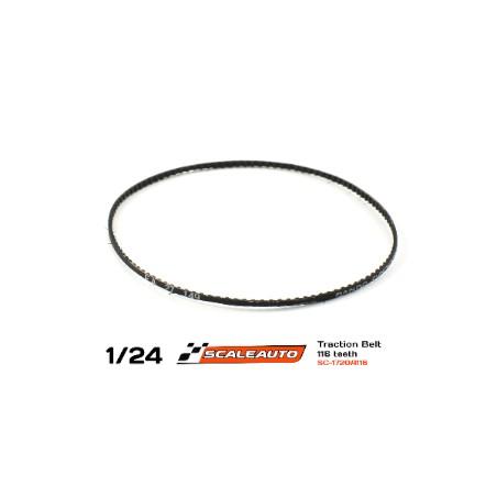 SCALEAUTO SC-1720A116 CORREA DENTADA 116 DIENTES  1.5mm GROSOR