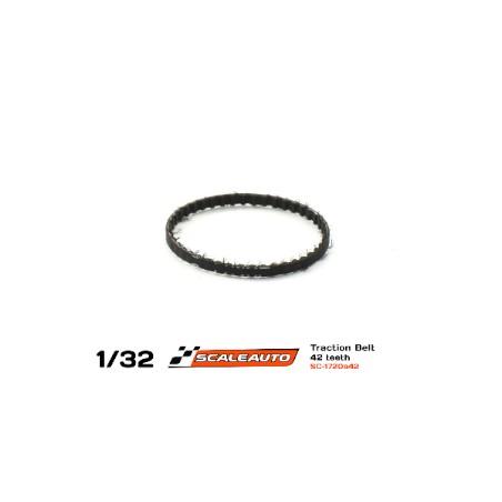 SCALEAUTO SC-1720A42 CORREA DENTADA 42 DIENTES 1.5MM GROSOR