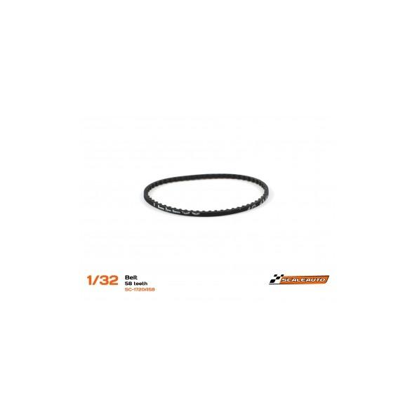 SCALEAUTO SC-1720A58 CORREA DENTADA 58 DIENTES 1.8MM GROSOR