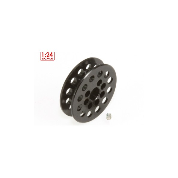 SCALEAUTO SC-1722B POLEA DENTADA 1/24 12 DIENTES P/CORREA 1.8mm
