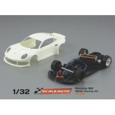 SCALEAUTO PORSCHE 991 GT3 WHITE RACING KIT