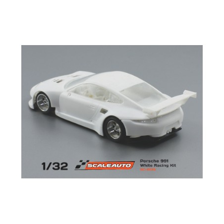 SCALEAUTO SC-6135 PORSCHE 991 GT3 WHITE RACING KIT