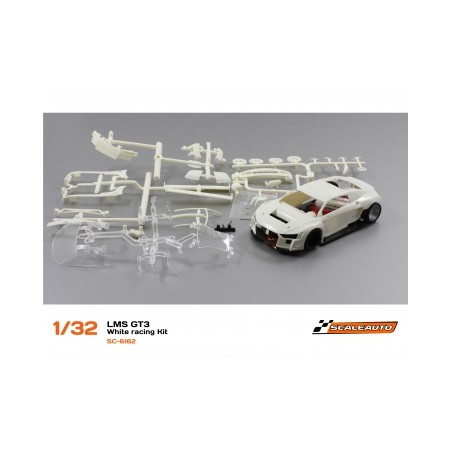 SCALEAUTO LMS GT3 WHITE RACING KIT