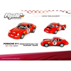FLYSLOT 036107 PORSCHE 911 S RALLY MONTECARLO 1969