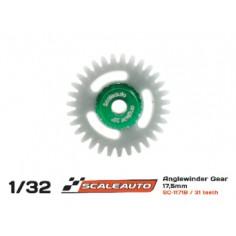SCALEAUTO SC-1171B CORONA 31 DIENTES M50 POLYAMIDE ANGLEWINDER  O18MM REVERSE
