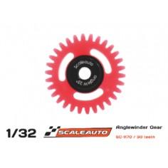SCALEAUTO SC-1170 CORONA 30 DIENTES POLYAMIDE ANGLEWINDER 25° PROCOMP-RS O15.8MM