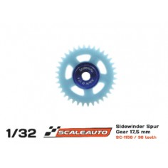 SCALEAUTO SC-1156 CORONA 36 DIENTES M50 NYLON O17.5mm