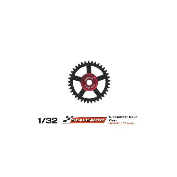 SCALEAUTO SC-1147 CORONA 37 DIENTES SIDEWINDER