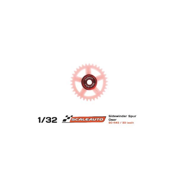 SCALEAUTO SC-1143 CORONA 33 DIENTES SIDEWINDER