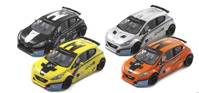 Scaleauto Peugeot 208 Cup edition