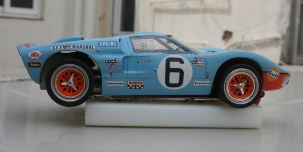 DECORACIÓN GULF FORD GT40 MKII ESCALA 1/24