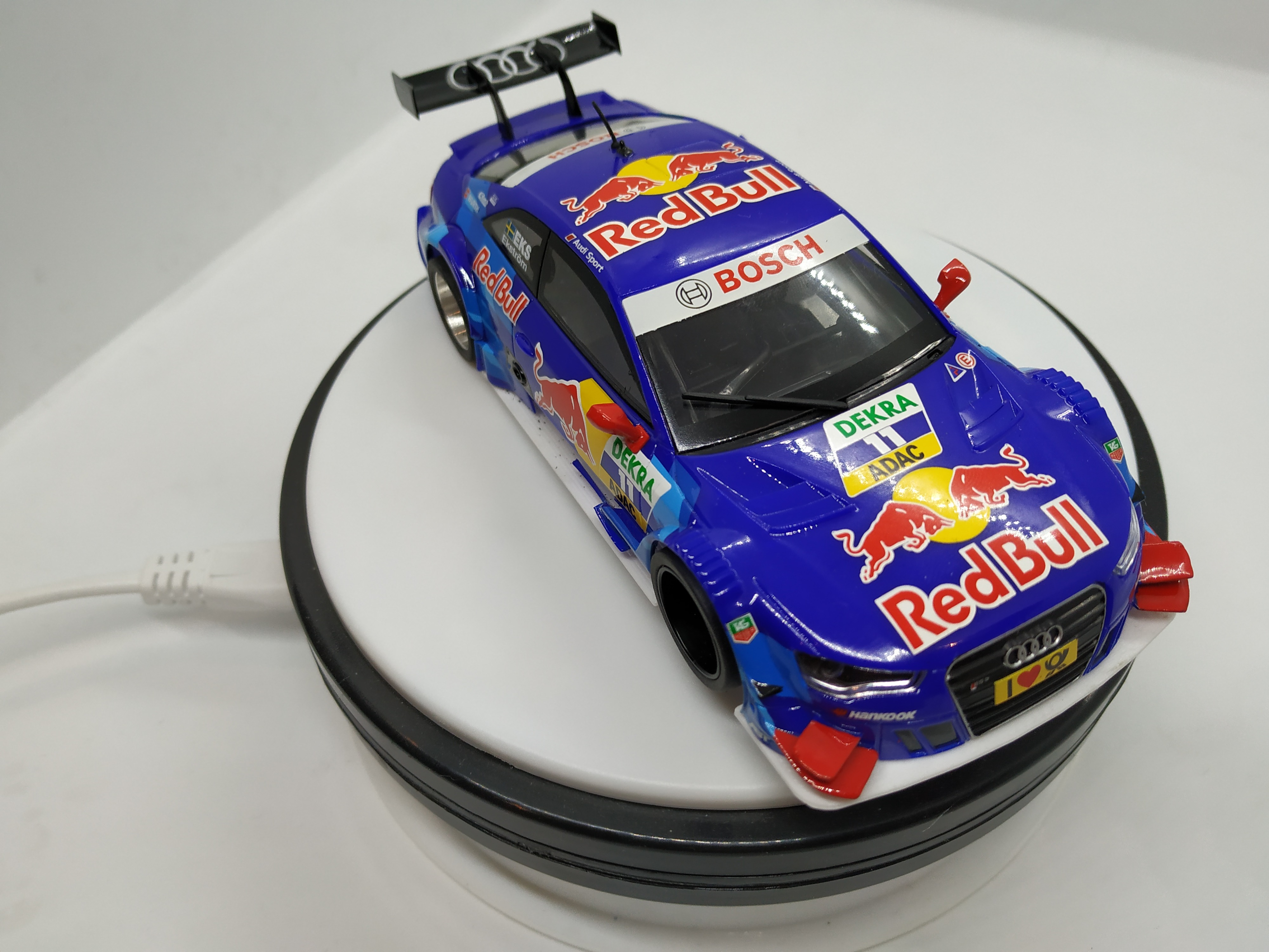 AUDI A5 DTM SCALEXTRIC CON CHASIS 3D SRP
